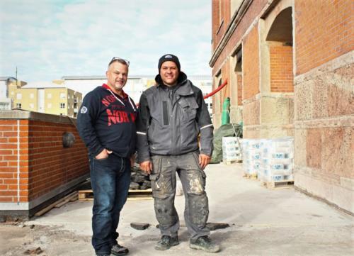 Dahlerupspakhus - Konsulentbesøg Allan fra Ardex og Carsten Frost