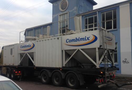 Udlægning af 20 tons gips spartelmasse